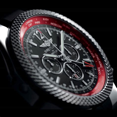 bentley breitling breitling celebrates new continental gt with gmt v8