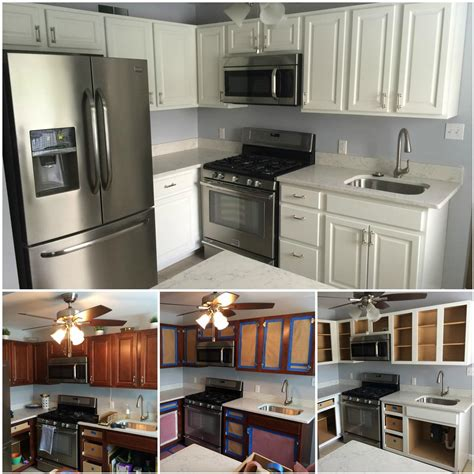 Cabinet Refinishing  Kennedy Painting. Modern Kitchen Backsplashes. Kitchen Floor Slate. Soft Kitchen Floor Mats. Kitchen Floor Mats. Fake Marble Countertops Kitchen. Color In Kitchen. Black Granite Countertops Kitchen. Open Floor Kitchen Designs