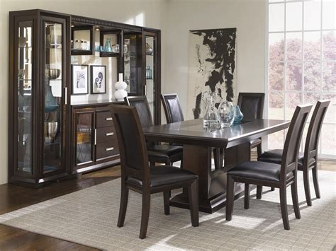 dining table cabinet china cabinet with server light bridge and storage
