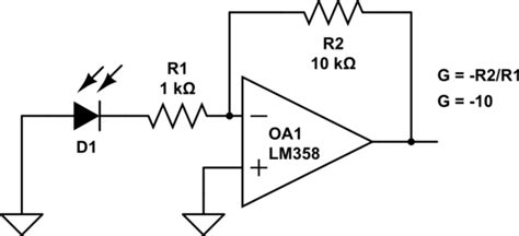Operational Amplifier Simple Inverting Amp Problem