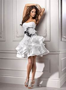 short white dresses for beach wedding styles of wedding With white short wedding dress