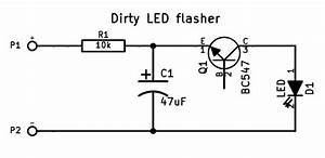 tefatronix super simple led flasher With led blinker circuit