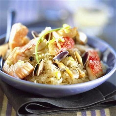 cuisiner haddock choucroute de la mer en cocotte recettes a cuisiner