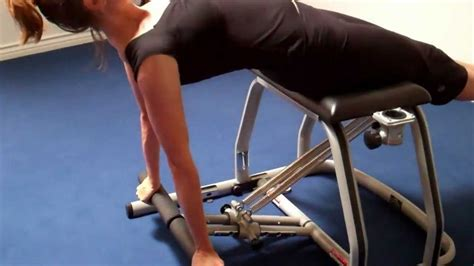 pilates chair exercise