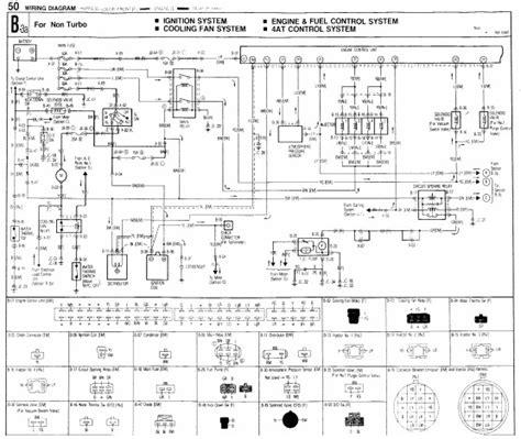 88 Mazda 323 Wiring Diagram by электросхемы Mazda 323 Bg электросхемы