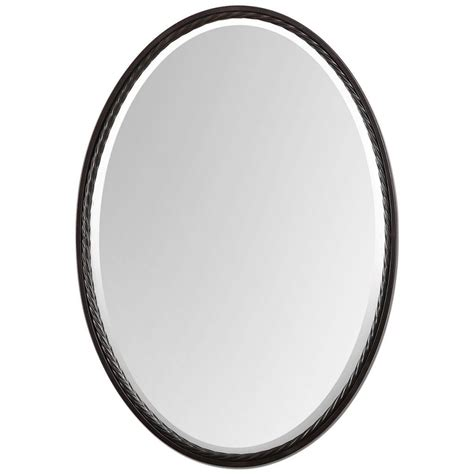 Framed Oval Bathroom Mirror by The Best Oval Mirrors For Your Bathroom Decor Snob