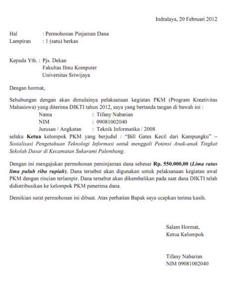 Contoh Surat Permohonan Kerjasama Sponsorship by 10 Contoh Surat Permohonan Bantuan Izin Kerjasama