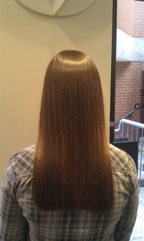 One Hair by Bobs One Length Hair And Squares On