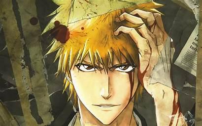 Ichigo Bleach Kurosaki Anime 4k Manga Characters