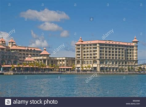 indian mauritius port louis view of the caudan waterfront stock photo royalty free image