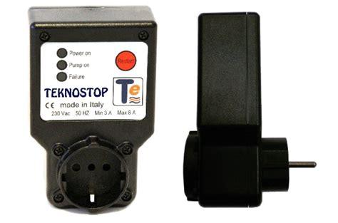 teknostop relais hydraulique s 233 curit 233 manque d eau pompe 3 224 8 a ebay