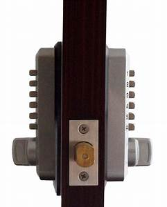 Keyless Gate Lock Lockey M210dc Mg Deadbolt Double Sided
