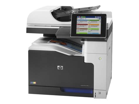 bureau multifonction hp laserjet enterprise mfp m775dn imprimante