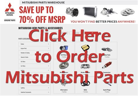 parts catalog mitsubishi  reviewmotorsco
