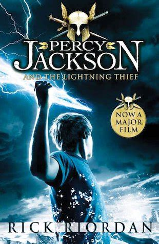 Percy Jackson and the Lightning Thief Book