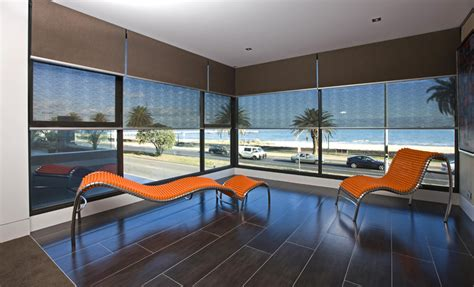 patio window curtains dual roller blinds superb window furnishings