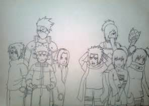 How to Draw Naruto Drawings