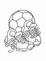 Soccer Coloring Ball Pages Boys Printable Recommended Mycoloring sketch template
