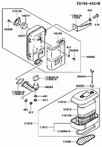 Kawasaki Fc420v Parts List And Diagram
