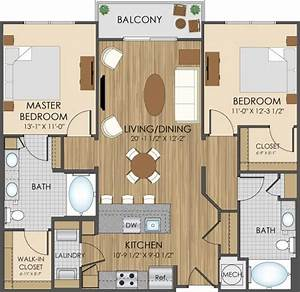 Floor Plans Of Hidden Creek Apartments In Gaithersburg, MD