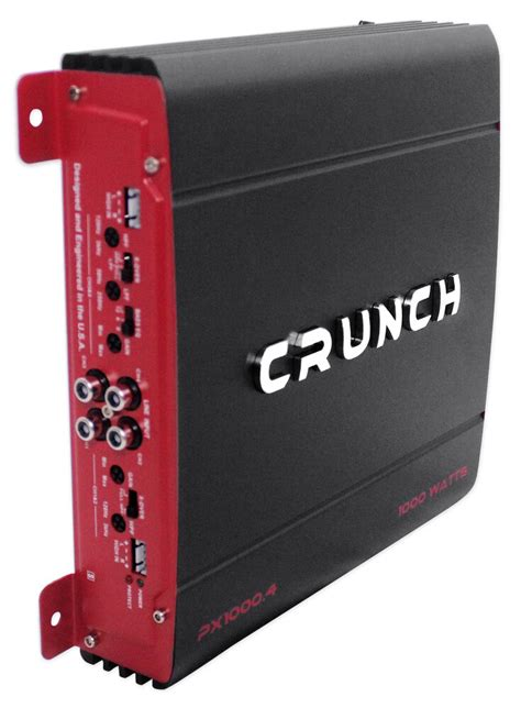 Crunch Watt Channel Powerful Car Audio