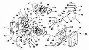 Johnson Intake Manifold Parts For 1995 112hp Xj112tsleoc
