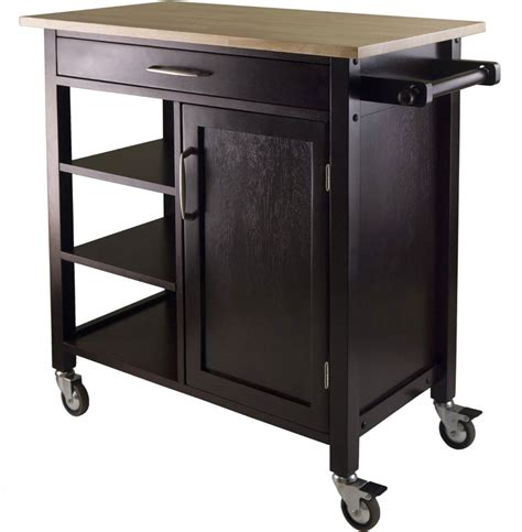 kitchen island rolling cart mali rolling kitchen cart in kitchen island carts 5144