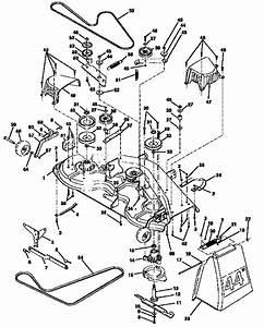 Craftsman Model 917250481 Lawn  Tractor Genuine Parts