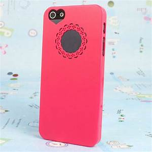iPhone 5 Case Pink Girly Love Heart Cut Out Cute ...