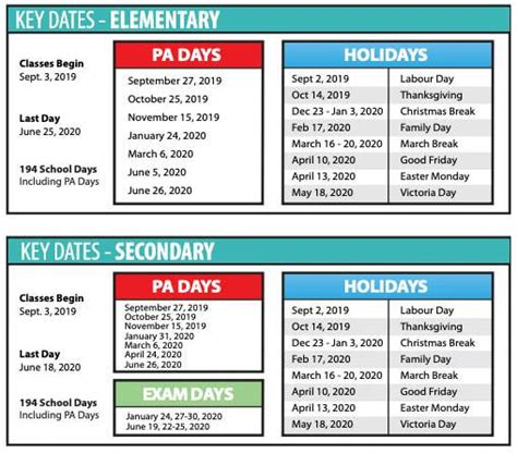 approved school year thames valley district school