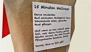 Weihnachtsgeschenke Für Mama Und Papa Selber Machen : geschenke selber machen dankesch n wellnesspaket ~ Markanthonyermac.com Haus und Dekorationen
