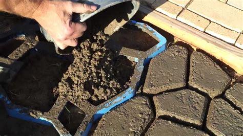 how to make concrete paving stones
