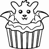 Coloring Cupcake Pages Kitty Hello Drawing Simple Muffin Printable Muffins Cupcakes Getcolorings Getdrawings Print Cool Clipartmag Colorings sketch template