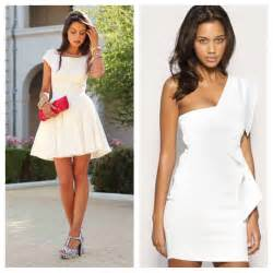 All White Party Dresses Women