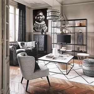 Tableau Photo Noir Et Blanc : tableau photo noir et blanc 103x143 sayouba maisons du monde ~ Melissatoandfro.com Idées de Décoration