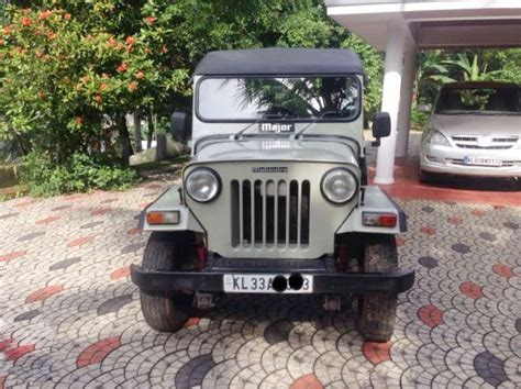 mahindra jeep 2013 mahindra jeep for sale at kottayam kottayam used cars in