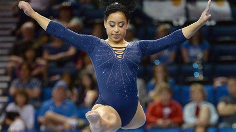 hip hop gymnastics floor routine ucla gymnast s hip hop infused floor routine takes
