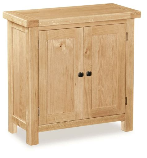 Small Contemporary Sideboard by Helford Small Oak Cupboard Sideboard Contemporary