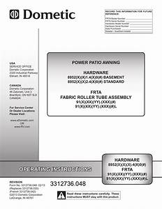Dometic Weatherpro Power Awning Parts