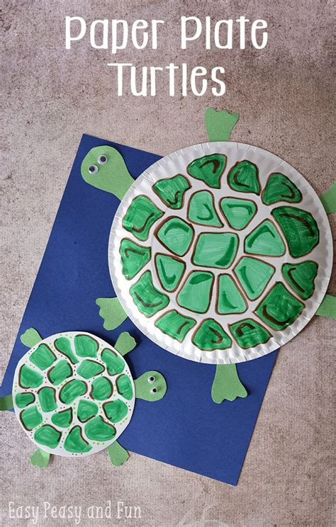 paper plate turtle craft easy peasy  fun