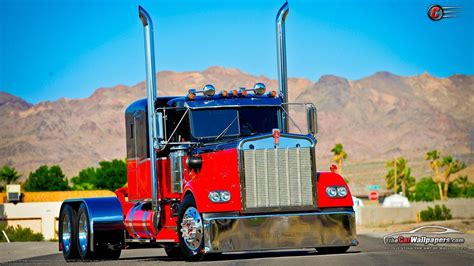 Custom Semi Truck Wallpapers semi truck wallpapers wallpaper cave