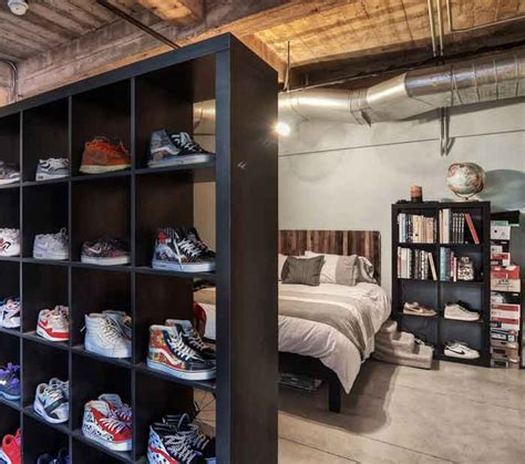 black and white bedroom ideas 34 freestanding shelving systems that as room