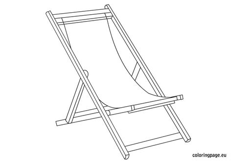 deckchair coloring page coloring pages deck chairs