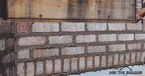 Brick Leaks   Ask the Builder