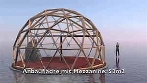 Geodätische Kuppel Bausatz : geod tische kuppel frequenz 3 youtube ~ Michelbontemps.com Haus und Dekorationen
