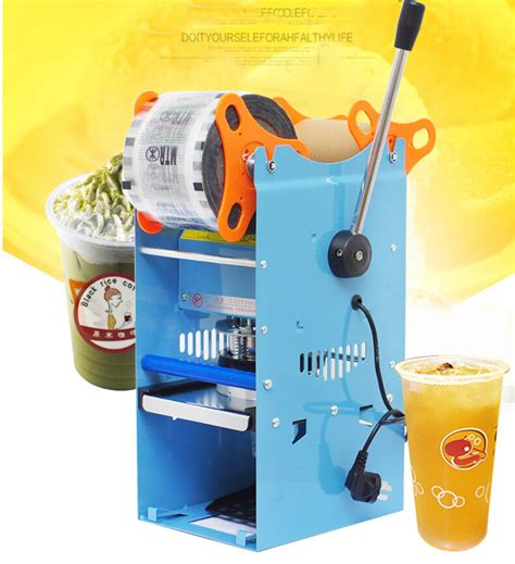 semi automatic milk tea cup sealer sealing machine cupsh ebay
