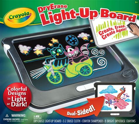 crayola light up board crayola dry erase light up board quot great christmas gift