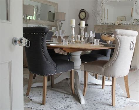 dining room chairs with back ring studded no 10