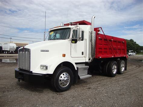 kenworth tandem dump truck used dump trucks for sale in tx