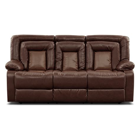 Reclining Loveseat With Center Console by Reclining Sofa With Center Console